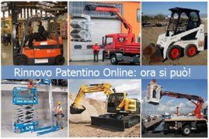 Rinnovo Aggiornamento Patentino Online