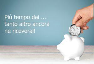 Bisogna investire il tempo, per affrontare le urgenze!